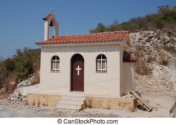 Road side chapel, Katomeri - A small road side chapel at...