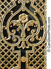 Detail of a door