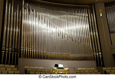 Pipe Organ - Modern Organ in national center for the...