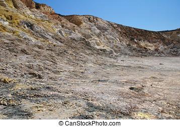 Stefanos volcano, Nisyros island