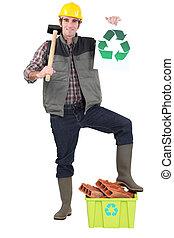 Environmentally friendly tradesman