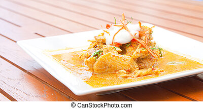 Chicken Red Curry - Gourmet Thai Chicken Red Curry Meal