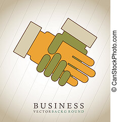 hands business - hands buisnessman over vintage background...