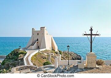 Torre Truglia, Sperlonga - photo taken along the Ulysses...