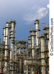 químico, destilación
