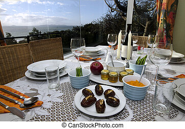 Rosh Hashanah Eve Meal - The Jewish holiday Rosh Hashanah...