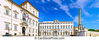 Rome, Oficial residence of the Presidents . - Rome, the...