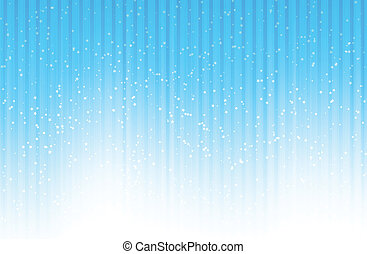 Starry Bluish Background - Background of rays, lines, stars,...