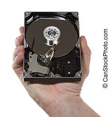 Hand,hard disk 1