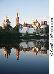 Novodevichy convent 3 - Novodevichy convent in the early...