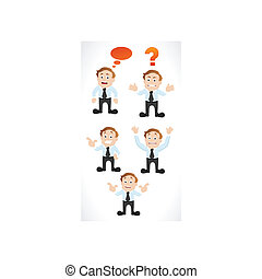 Businessman Presentation Vectors