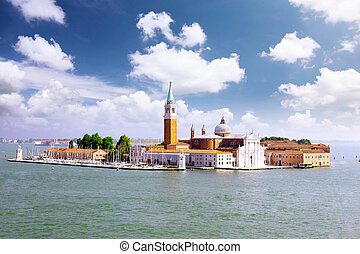 Seaview of Venice, Italy . Panorama view