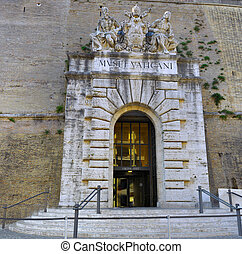 Main Gate of Vatican City Italy - Main Gate of Vatican City...