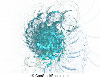 Colour abstract art background spiral - Colour abstract art...
