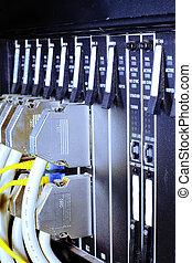 Telecommunication equipment, optical multiplexor in a...