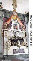 Statue in Duomo Santa Maria Del Fiore Florence - Statue in...