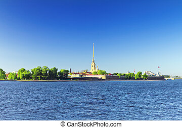Peter and Paul Fortress. Saint-Petersburg. Russia