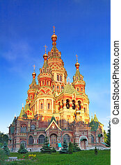 Church of St Peter and Paul Church, Peterhof, Saint...