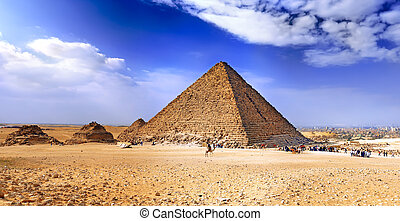 Great Pyramid of Giza. Egypt - Great Pyramid of Giza, called...