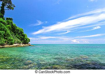 Bay of Khao Lak,Pang Nga,Thailand.