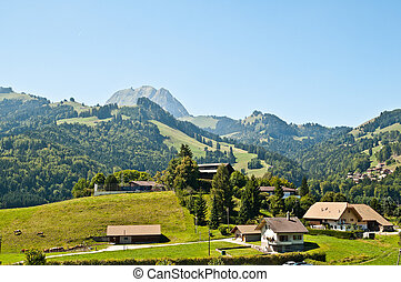 Gruyeres is a litlle town in Fribourg Switzerland