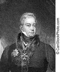 William IV of the United Kingdom 1765-1837 on engraving from...