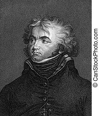 Jean Baptiste Kleber (1753-1800) on engraving from 1859....