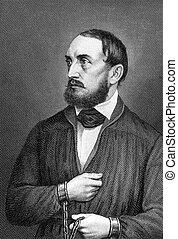 Wilhelm Adolph von Trutzschler (1818-1849) on engraving from...