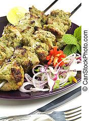 Indian Shish Kebab - Northern Indian, meat...