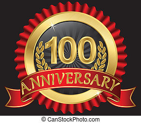 100 years anniversary golden - 100years anniversary golden...