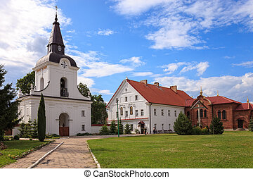 Suprasl Orthodox Monastery - The Gate-Belltower in Monastery...