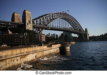 Harbour Bridge - The Sydney Harbour Bridge in Australia
