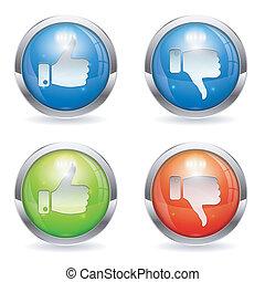 Like & Unlike Button