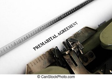 Premarital agreement