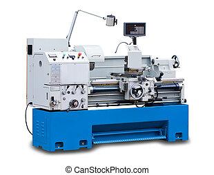 Lathe turning machine