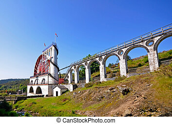 The Great Laxey Wheel - Isle of Man - The Great Laxey Wheel...