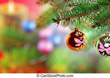 Christmas and New Year decoration. - Christmas and New Year...