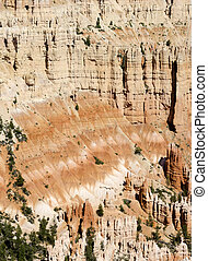 Bryce Canyon - Overview in Bryce Canyon in Utah in the...
