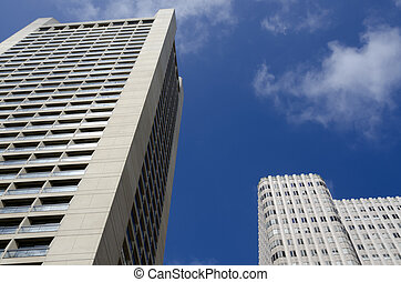 skyscraper in San Francisco, California in United States of...