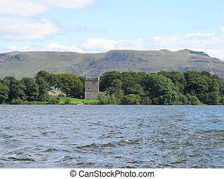 Loch Leven Castle Perthshire Scotland