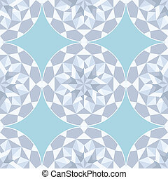 Diamond stone seamless background. Vector illustration.