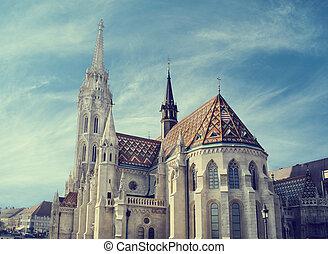 igreja,  Budapest,  matthias