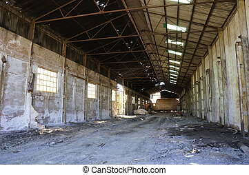 the mining factory - Deserted factory - Abandoned empty...