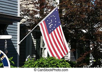 bicentenario, bandera