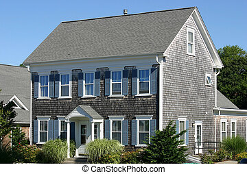 New England House - A traditional Cape Cod house in...