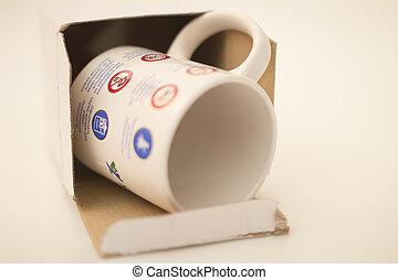 souvenir mug - A mug of tea is made by special order of...