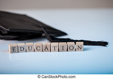 Education and graduation - Education concept with the...