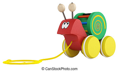 Fun cartoon snail toy
