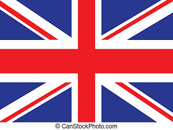 british flag - Illustrated version of the british flag ideal...
