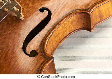 antigas, violino